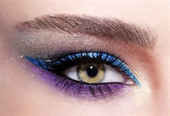 HOW TO MAKE  MAGNIFICENT MULTICOLORED EYES